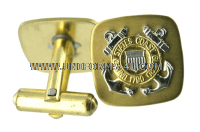COAST GUARD CUFF LINKS FOR ENLISTED PERSONNEL (E-1 TO E-6)