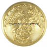 MARINE CORPS BUTTON ANODIZED