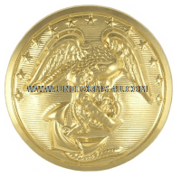 USMC ANODIZED GOLD BUTTONS