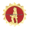 army lapel pin active duty minute man