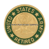 u.s. army retired lapel pin