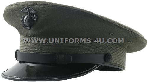 usmc enlisted service cap