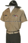 usmc drill instructor service charlie uniform