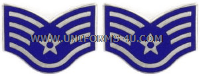 air force chevron metal staff sergeant