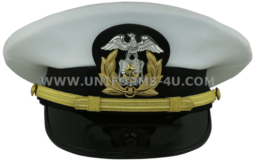 U S  MARITIME SERVICE / MERCHANT MARINE OFFICER COMBINATION CAP