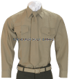 USMC LONG-SLEEVE KHAKI SHIRT