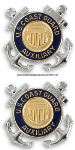 COAST GUARD AUXILIARY MEMBER COLLAR DEVICE