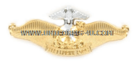 U.S. NAVY FLEET MARINE FORCE CHAPLAIN BADGE
