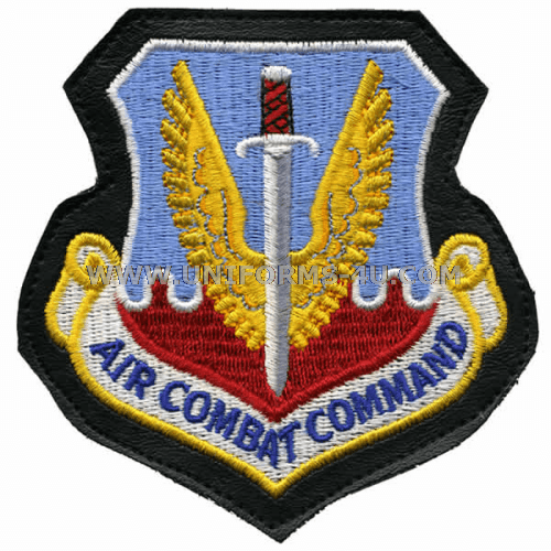 25th air force air combat command patch