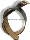 US MARINE CORPS GARRISON BELT PORVAIR SYNTHETIC LEATHER