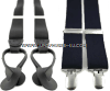 U.S. MILITARY BLACK SUSPENDERS