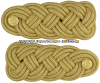 army shoulder knots mess dress