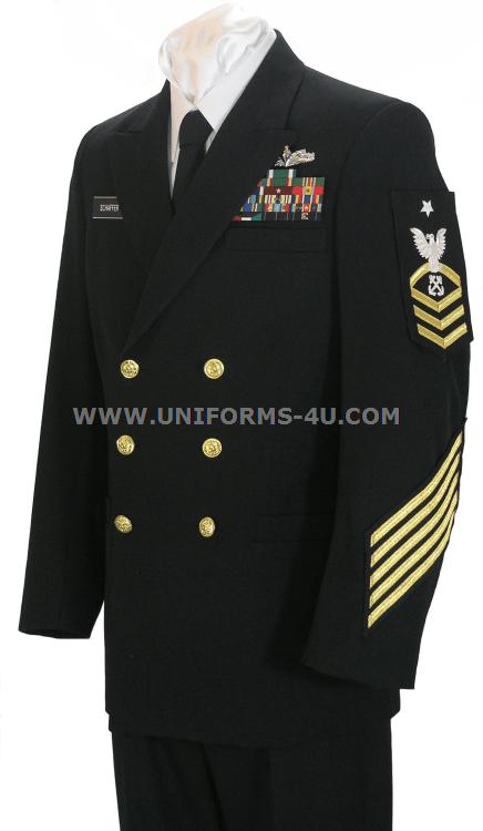 US Navy Chief Petty Officer (CPO) Dress Blue Uniform
