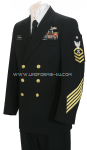 U.S. NAVY MALE CHIEF PETTY OFFICER SERVICE DRESS BLUE UNIFORM