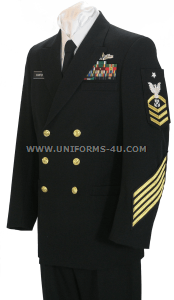us navy chief petty officer service dress blue uniform