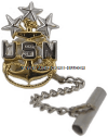 U.S. NAVY MASTER CHIEF PETTY OFFICER OF THE NAVY TIE TACK