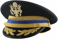 U.S. Army Service Cap for Field Grade Aviation Officers