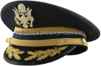 U.S. ARMY SERVICE CAP FOR FIELD GRADE JUDGE ADVOCATE GENERAL'S CORPS OFFICERS