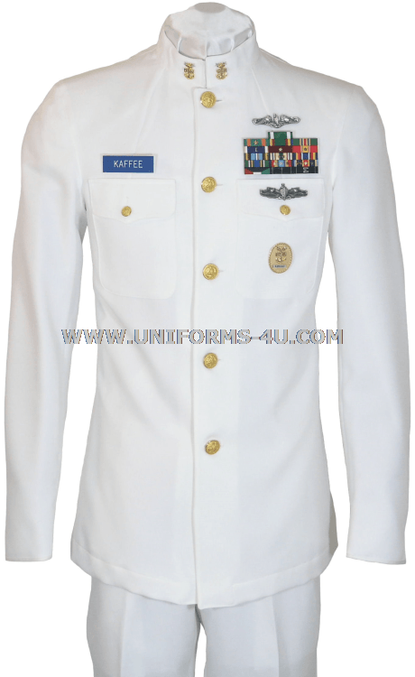 us navy service dress white sdw cpo uniform