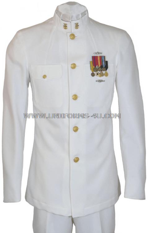 Navy White Dress Uniform 26