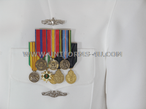 Us navy medal placement dress blues
