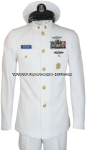 US NAVY SERVICE DRESS WHITE (SDW) CPO UNIFORM