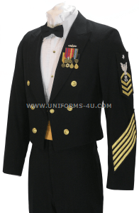 us navy enlisted dinner dress blue jacket uniform