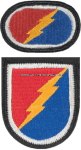 US ARMY 4 BRIGADE 25 INFANTRY DIVISION AIRBORNE FLASH AND OVAL