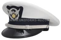 USCG AUXILIARY MALE OFFICER COMBINATION CAP