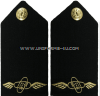 U.S. NAVY CWO AVIATION ELECTRONICS TECHNICIAN (AT) HARD SHOULDER BOARDS