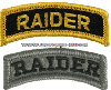 US ARMY ARMY RAIDER TAB PATCH