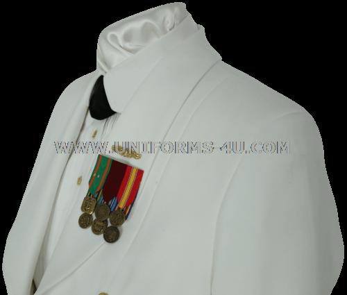 Dinner dress white jacket uscg reserve