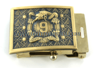 U.S. Army 9th Infantry Regiment Belt Buckle