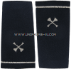 usaf shoulder marks blue with two crossed bugles