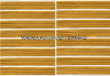 US ARMY SERVICE STRIPE GOLD ON WHITE SET OF 8 STRIPES