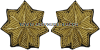 U.S. Army Major Embroidered Bullion Rank Insignia
