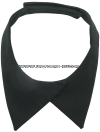 BLACK NECKTAB FOR FEMALE SERVICE UNIFORM