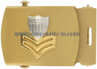 COAST GUARD BELT BUCKLE FOR MALE PETTY OFFICER 1ST CLASS (E-6)