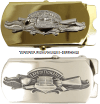 US navy expeditionary warfare specialist belt buckle