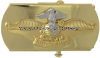 US navy fleet marine force chaplain officer gold buckle