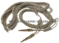 USAF ALUMINUM AIGUILLETTE FOR GENERAL OFFICERS AIDES MESS DESS UNIFORM