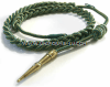 marine corps fourragere wwi green with gold spots and brass tip