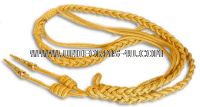 MARINE CORPS DRESS AIGUILLETTE (SYNTHETIC GOLD)
