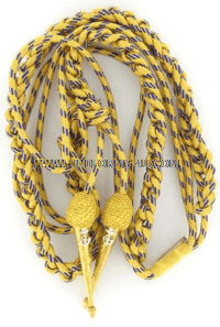 U.S. NAVY DRESS AIGUILLETTE (SYNTHETIC GOLD)
