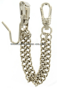 ARMY METAL SWORD CHAIN SILVER