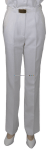 US NAVY FEMALE SUMMER WHITE CNT PANTS