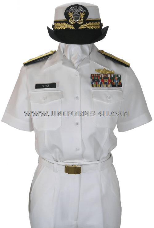 Navy uniform regulations full dress white