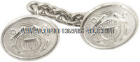 COAST GUARD AUXILIARY CHAINED BUTTONS FOR DINNER DRESS JACKETS