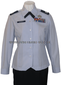 USAF FEMALE OFFICER BLOUSE UNIFORM