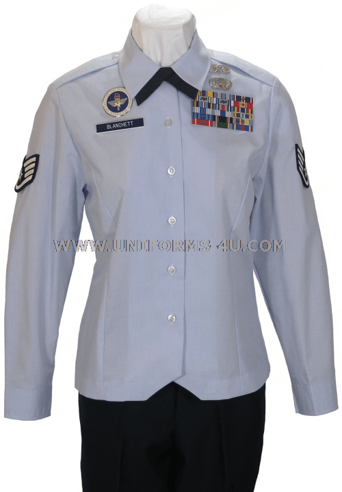 Usaf Female Enlisted Blouse Uniform